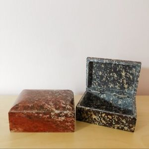 Other - Stone Trinket Boxes (2 available)